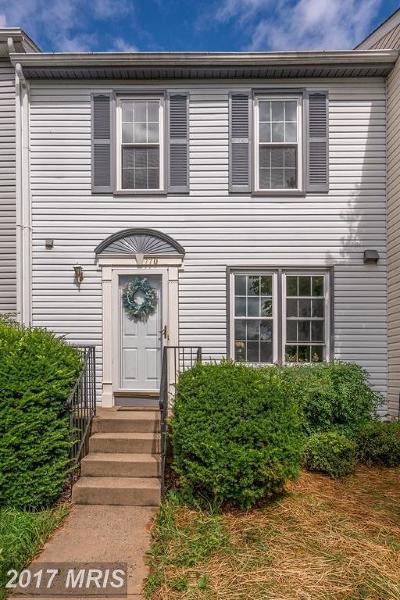 Warrenton Townhouse For Sale: 770 Cherry Tree Lane