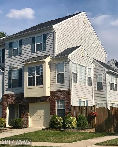 Frederick Townhouse For Sale: 1030 Lavenport Way