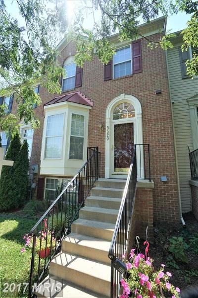 Frederick Townhouse For Sale: 5520 Westcott Circle