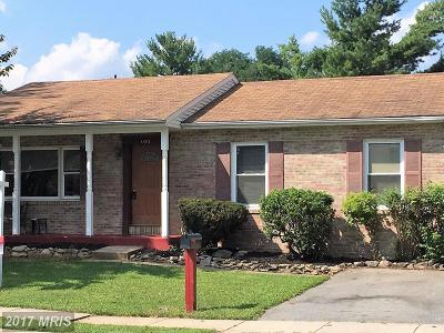 Frederick Single Family Home For Sale: 1193 Schaffer Drive