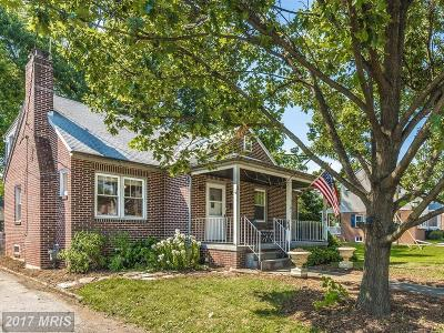 Frederick Single Family Home For Sale: 17 Norva Avenue