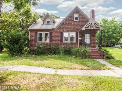 Frederick Single Family Home For Sale: 816 Trail Avenue