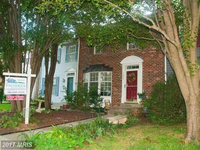 Frederick MD Townhouse For Sale: $239,000