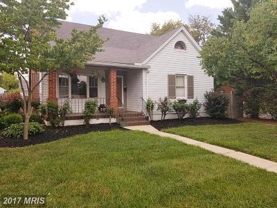 Frederick Single Family Home For Sale: 717 Fairview Avenue