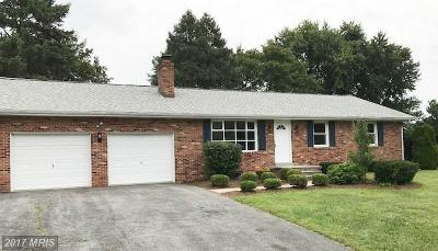 Frederick Single Family Home For Sale: 8109 Glendale Drive