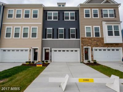 Frederick Townhouse For Sale: 4638 Cambria Court