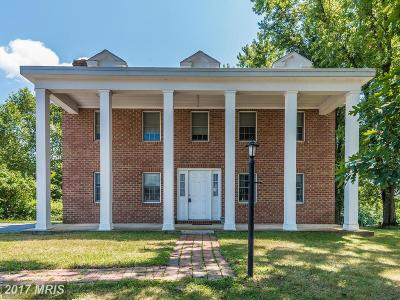 Ijamsville Single Family Home For Sale: 4743 Mussetter Road