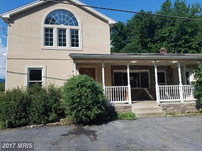 Thurmont Single Family Home For Sale: 7518 Franklinville Road