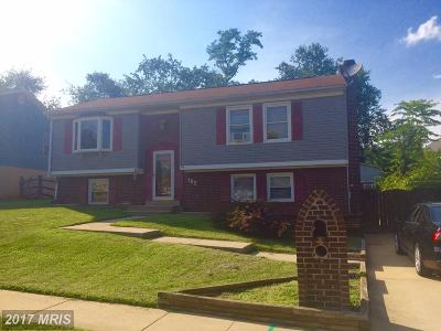Frederick Single Family Home For Sale: 185 Poinsett Lane