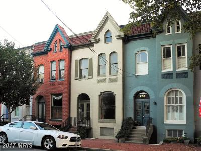 Frederick Townhouse For Sale: 123 3rd Street E