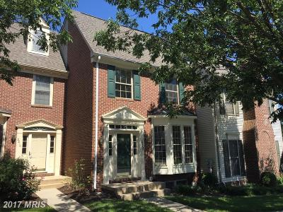 Frederick Townhouse For Sale: 2218 Bear Den Road