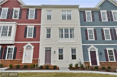 Frederick Townhouse For Sale: 9027 Templeton