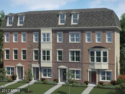 Frederick Townhouse For Sale: 7123 Judicial Way