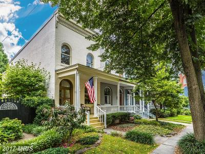 Frederick Townhouse For Sale: 124 3rd Street E