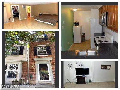 Frederick MD Townhouse For Sale: $219,900