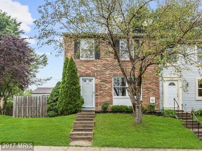 Frederick Townhouse For Sale: 233 Canfield Terrace