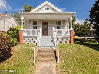 Frederick Single Family Home For Sale: 125 Jefferson Street
