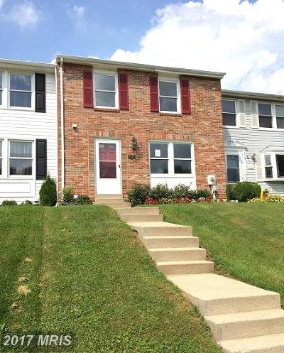Frederick MD Townhouse For Sale: $180,900