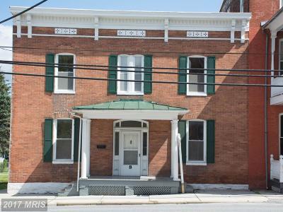 Woodsboro Single Family Home For Sale: 8 Main Street