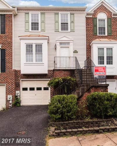 New Market Townhouse For Sale: 6653 Harbor Light Way