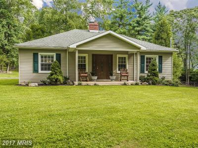 Middletown Single Family Home For Sale: 1206 Marker Road