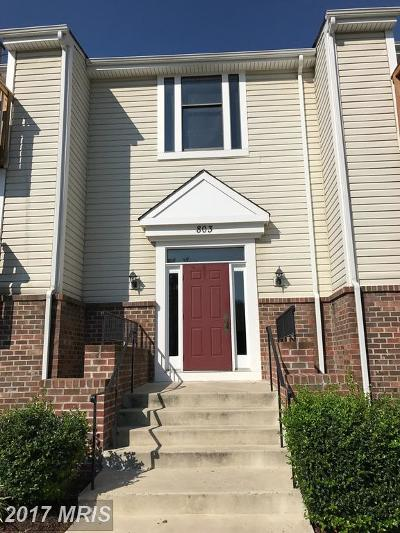 Frederick MD Condo For Sale: $130,000
