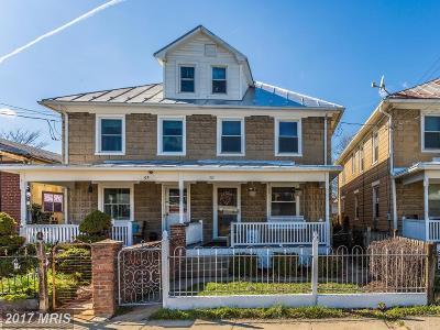 Frederick Duplex For Sale: 51 Hamilton Avenue