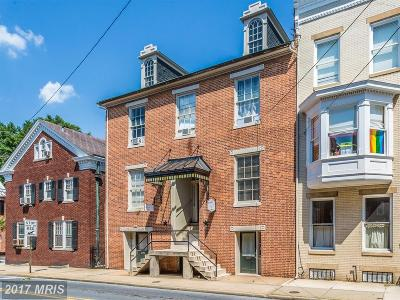 Frederick Single Family Home For Sale: 124 Court Street
