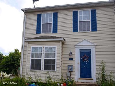 Thurmont Townhouse For Sale: 301 Stull Court