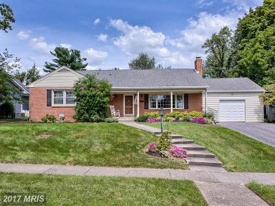 Frederick Single Family Home For Sale: 24 Kline Boulevard