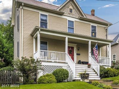 Frederick Single Family Home For Sale: 823 A Street