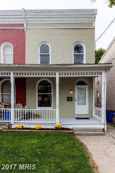 Frederick Duplex For Sale: 316 3rd Street E