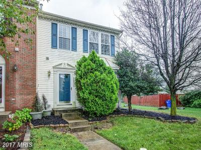 Frederick Townhouse For Sale: 2053 Sumner Drive