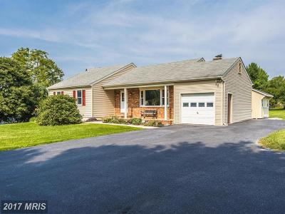 Walkersville Single Family Home For Sale: 8988 Grape Creek Road