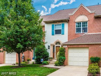Frederick Townhouse For Sale: 8003 Captains Court