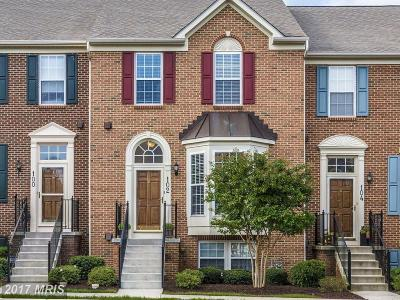 Middletown Townhouse For Sale: 102 Stone Springs Lane