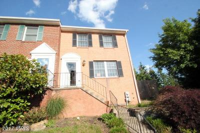 Mount Airy Townhouse For Sale: 1329 Oak Cliff Court