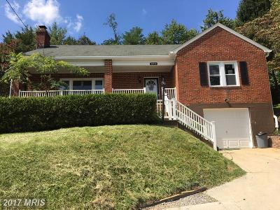 Frederick Single Family Home For Sale: 6916 Edgemont Road