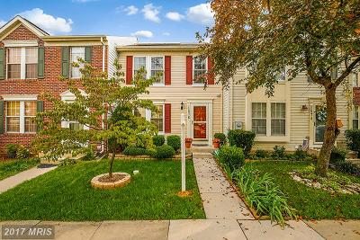 Frederick Townhouse For Sale: 1576 Beverly Court