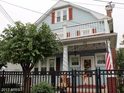 Frederick Single Family Home For Sale: 311 Brunswick Street