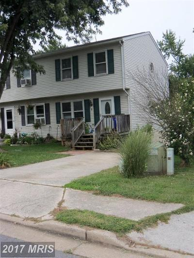 Frederick Duplex For Sale: 3 Wenner Drive