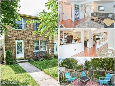 Frederick Townhouse For Sale: 1764 Springfield Lane