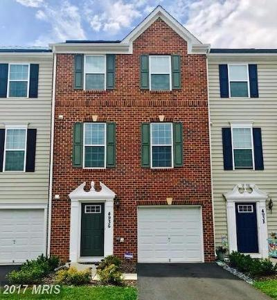 Frederick Townhouse For Sale: 4936 Small Gains Way