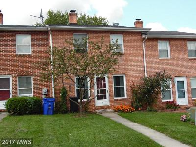Emmitsburg Townhouse For Sale: 4 Welty Avenue