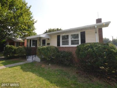 Frederick Single Family Home For Sale: 622 Apple Avenue
