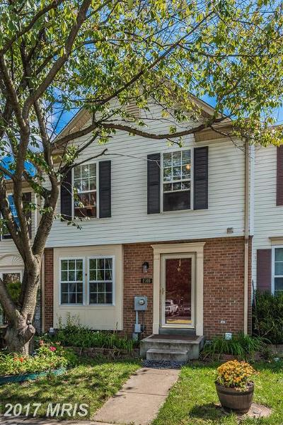 Point Of Rocks Townhouse For Sale: 2169 Swains Lock Court