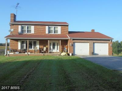 Frederick Single Family Home For Sale: 8136 Ball Road