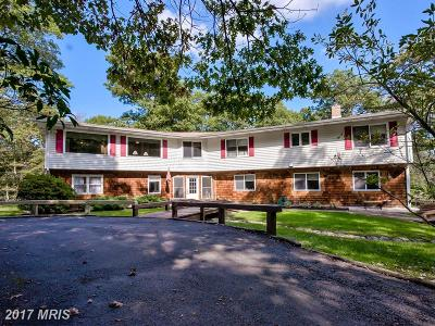 Frederick Single Family Home For Sale: 10809 Gambrill Park Road