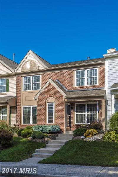 Frederick Townhouse For Sale: 871 Waterford Drive
