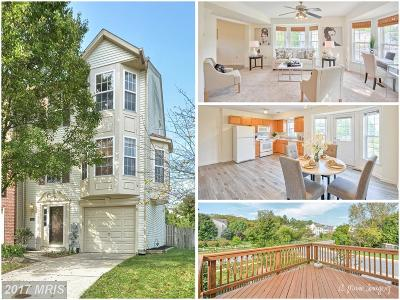 Frederick Townhouse For Sale: 501 Primus Court